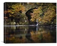 The Hermitage , Dunkeld, Perthshire, scotland, Canvas Print