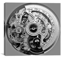 a watch insides, Canvas Print