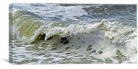 Milky Wave, Canvas Print