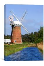 Horsey Windpump, Canvas Print