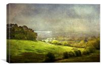 The Valley, Canvas Print