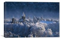 Fort Augustus Abbey, Canvas Print