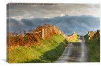 Road to nowhere, Canvas Print