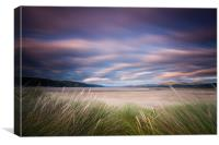 Dyfi Estuary Sunset, Canvas Print