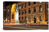 The Cenotaph and Whitehall, London, Canvas Print