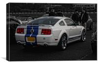 Ford Mustang GT, Canvas Print