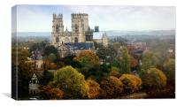 York Minster cathedral, Canvas Print