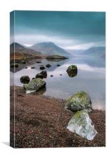 Wast water Cumbria, Canvas Print