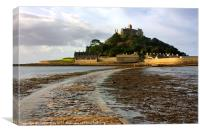St Michaels Mount 2, Canvas Print