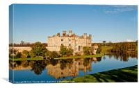 Autumn at Leeds Castle, Canvas Print