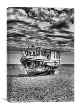 FE92 Dungeness Boat, Canvas Print