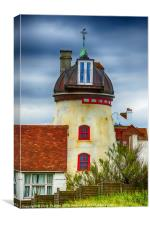 Fort Green Windmill Aldeburgh, Canvas Print