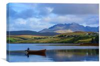 Loch Harport and the Cuillins 2, Canvas Print