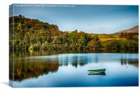 Loch Awe Reflections, Canvas Print