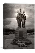 Commando Memorial, Canvas Print