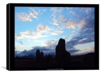 The Standing Stones, Canvas Print