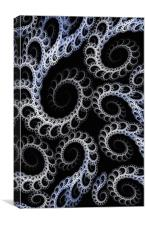 Tentacles Abstract, Canvas Print