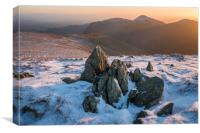 Mardale Ill Bell Sunset , Canvas Print