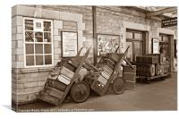 Old Luggage, Canvas Print