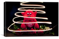 You Light Up My Life, Canvas Print