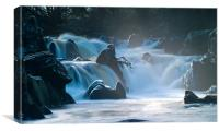 Icy Flows, Canvas Print