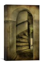 spiral staircase 2, Canvas Print