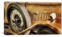 golden age of motoring, Canvas Print