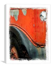 not in service, Canvas Print