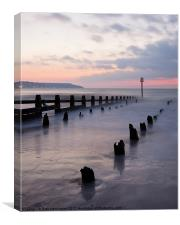 Dawlish Warren at Dawn, Canvas Print