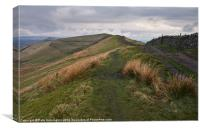 Rushup Edge in the Peak District, Canvas Print