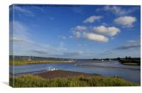 Exe Estuary, Canvas Print