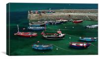 Coverack Habour - Cornwall, Canvas Print