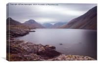 Wastwater in Cumbria, Canvas Print