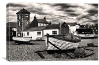 Aldeburgh Boats, Canvas Print