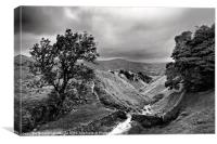 At The Top Of Cavedale #2, Canvas Print