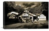 Kinema In The Woods, Canvas Print