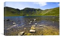 Helvellyn From Red Tarn, Canvas Print
