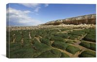 Hunstanton Beach, Canvas Print