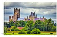 Ely Cathedral, Canvas Print