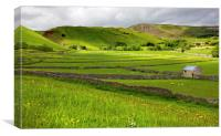 Mam Tor in the Hope Valley, Canvas Print