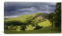 Bunster Hill Dovedale, Canvas Print