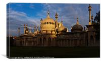 The Royal Pavilion, Canvas Print
