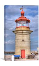 Ramsgate Harbour Lighthouse, Canvas Print