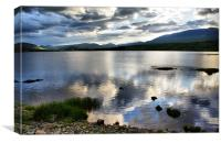 Loch Rannoch, The Highlands, Canvas Print