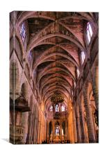 Bazas Cathedral, Canvas Print