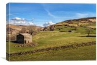 Keld, Upper Swaledale II, Canvas Print