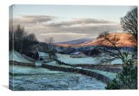 A Touch Of Frost, Canvas Print