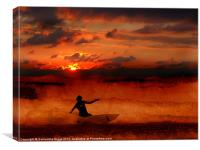 Last Wave, Canvas Print