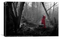 Little Red Riding Hood, Canvas Print