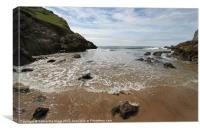 Mewslade Bay - Gower - Wales, Canvas Print